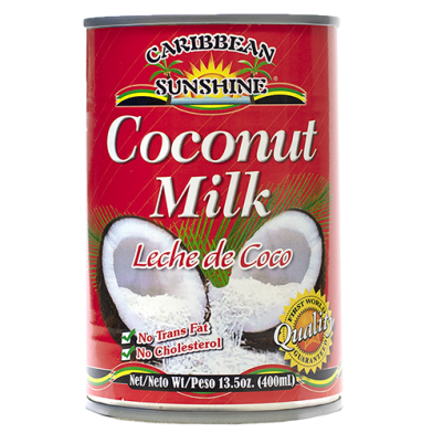 Caribbean Sunshine Coconut Milk 13.5oz