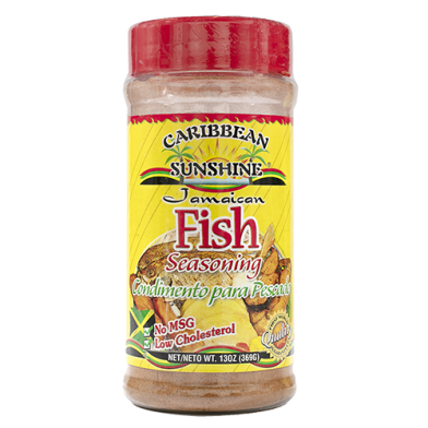Caribbean Sunshine Fish Seasoning 13oz