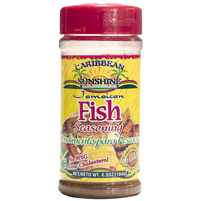 Caribbean Sunshine Fish Seasoning 6.5oz