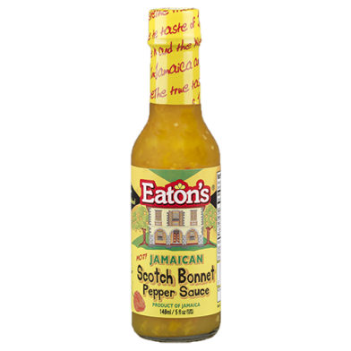 Eaton's Scotch Bonnet Pepper Sauce 5oz