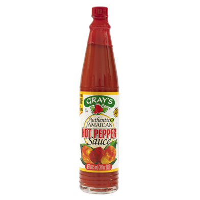 Gray's Hot Pepper Sauce 3oz