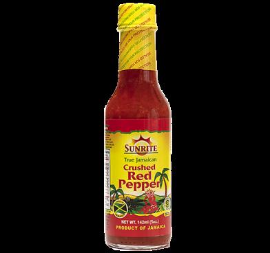 Sunrite Crushed Red Pepper Sauce 5oz