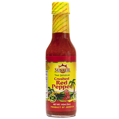 Sunrite Crushed Red Pepper Sauce 5oz
