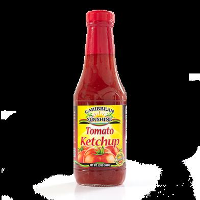 Caribbean Sunshine Tomato Ketchup 14oz